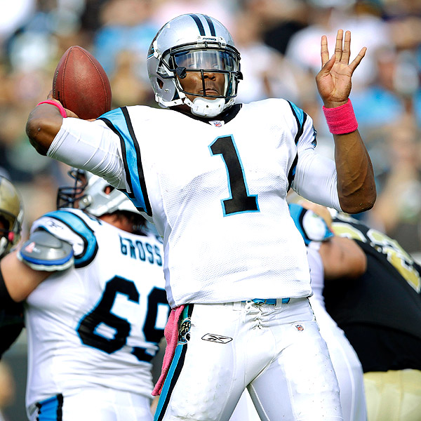 Cam Newton, who trained at the IMG Madden Football Academy with Chris Weinke, has impressed thus far in his rookie season