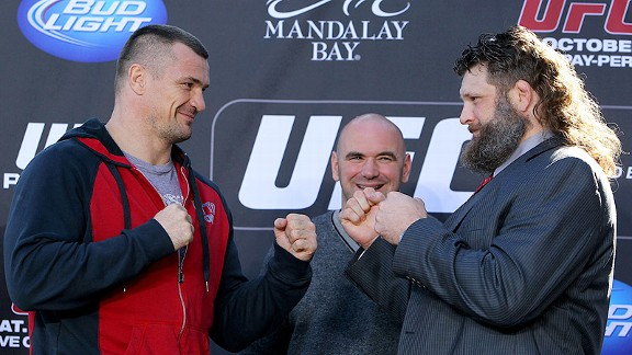 Mirko Cro Cop and Roy Nelson
