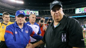 Rex Ryan and Tom Coughlin