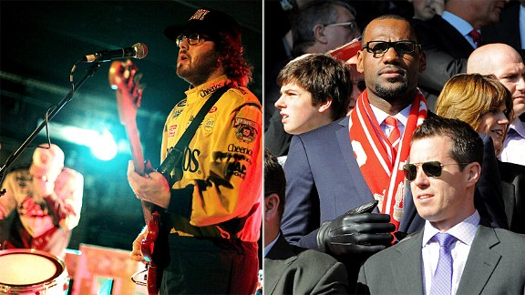 Dale Earnhardt Jr Jr & LeBron James