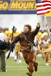 West Virginia Mountaineers mascot