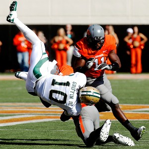 Oklahoma State's Markelle Martin and Baylor's Robert Griffin III