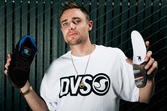 DVS collabs with iDeadliest Catch/i deckhand Jake Anderson.