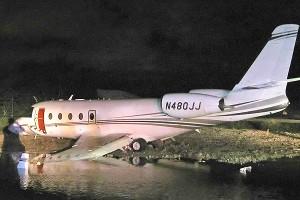 Rick Hendrick's plane