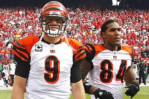 Carson Palmer and T.J. Houshmandzadeh