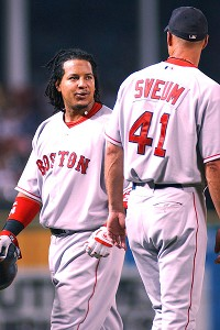 Manny Ramirez and Dale Sveum