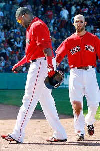 David Ortiz and Dustin Pedroia