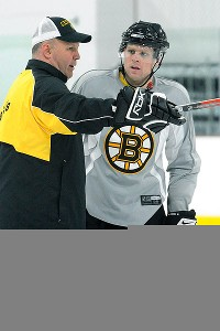 Claude Julien and Phil Kessel