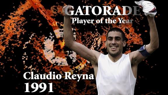 POY Alumni: Claudio Reyna