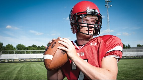 Maty Mauk of Kenton (Ohio) holds two national passing records.