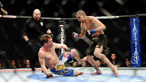 Brad Pickett vs Renan Barao