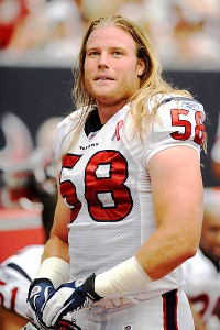 Houston Texans rookie linebacker Brooks Reed