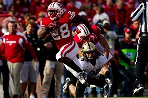 Wisconsin Badgers running back Montee Ball
