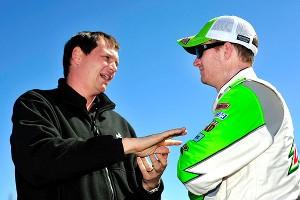 Steve Letarte and Dale Earnhardt Jr.