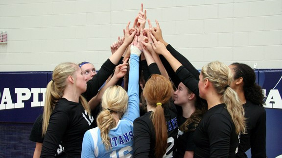 Papillion-La Vista South volleyball