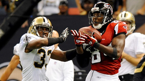 Roddy White, Jabari Greer