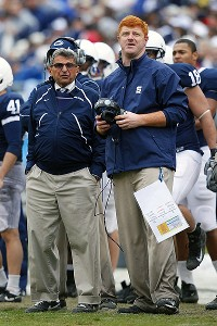 Joe Paterno and Mike McQueary