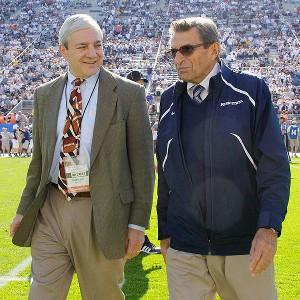 Graham Spanier and Joe Paterno