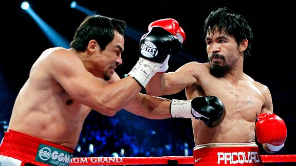 Manny Pacquiao and Manuel Marquez