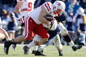 Nebraska running back Rex Burkhead