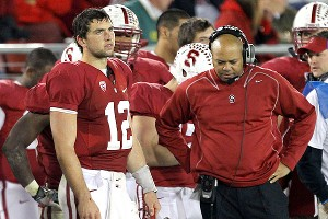 Andrew Luck and David Shaw
