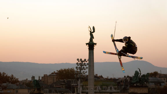 Welcome to Budapest, where the Fridge Festival Big Air took place this weekend.