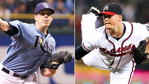 Jeremy Hellickson and Craig Kimbrel