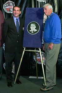 Mike Krzyzewski and Bob Knight