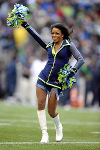 Seahawks Cheerleader
