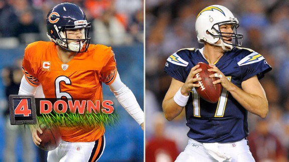 Jay Cutler, Philip Rivers