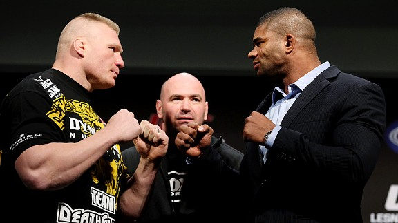 Brock Lesnar & Overeem Alistair