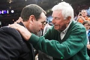 Coach K, Bob Knight