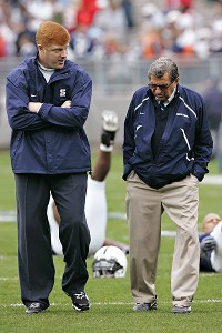 Joe Paterno Mike McQueary