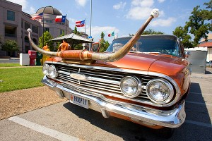 Longhorns car