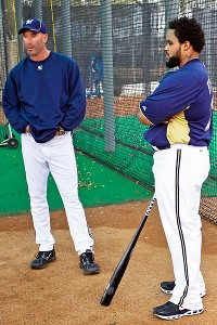Dale Sveum and Prince Fielder