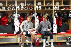 Eric and Marc Staal