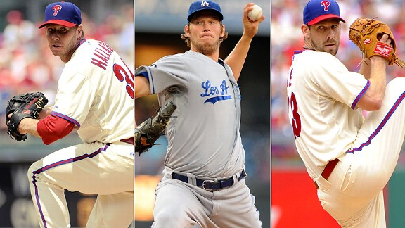 Roy Halladay/Clayton Kershaw/Clifford Lee