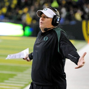 Chip Kelly on Steve Dykes Getty Images Chip Kelly Might Not Know Who Oregon S