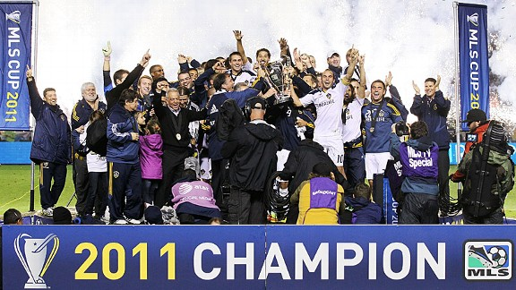 2011 MLS Champion LA Galaxy