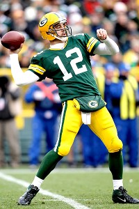 Matthew Stockman Getty Images Aaron Rodgers Ranks No 1 In Passer Rating 1277 Completion Percentage 718 And Touchdown Throws 33 Has Been