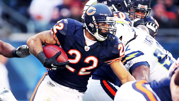Forte tops list of 14 Bears FREE agents