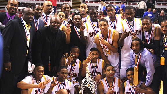 Simeon basketball team