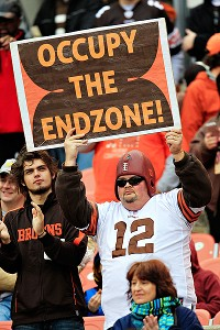 Browns Occupy Signs