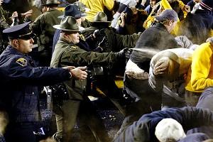 Pepper Sprayed Fans