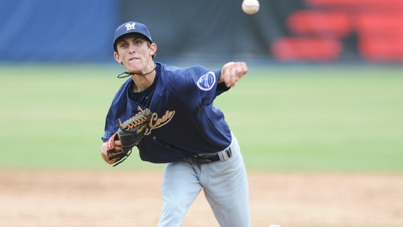 Hunter Virant, Milwaukee Brewers, Area Code Baseball, Camarillo High School