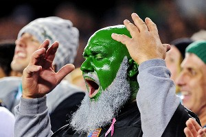 Eagles Fan Painted Face