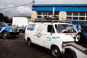 WTAJ News Van