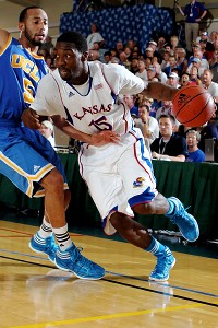 Kansas' Elijah Johnson