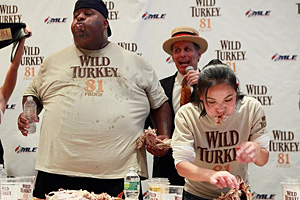 Wild Turkey 81 Eating Contest