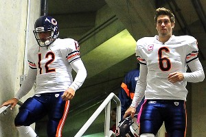 Jay Cutler, Caleb Hanie